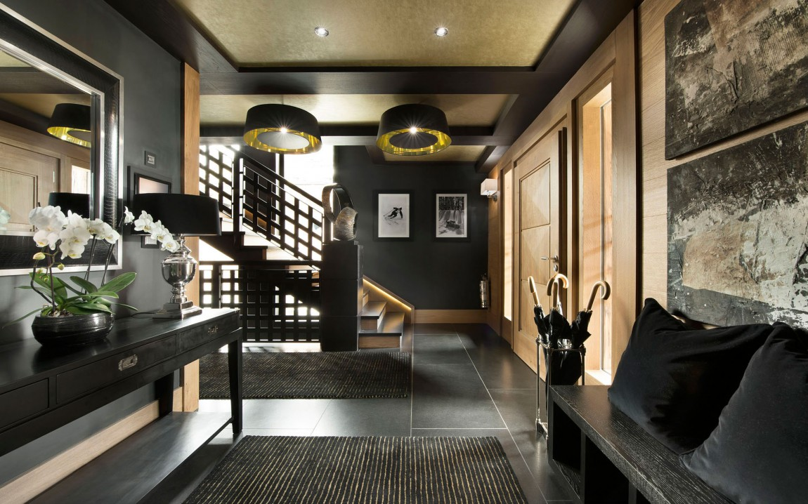 Inspiring Modern Chalet Interior Design From French Alps Architecture Beast