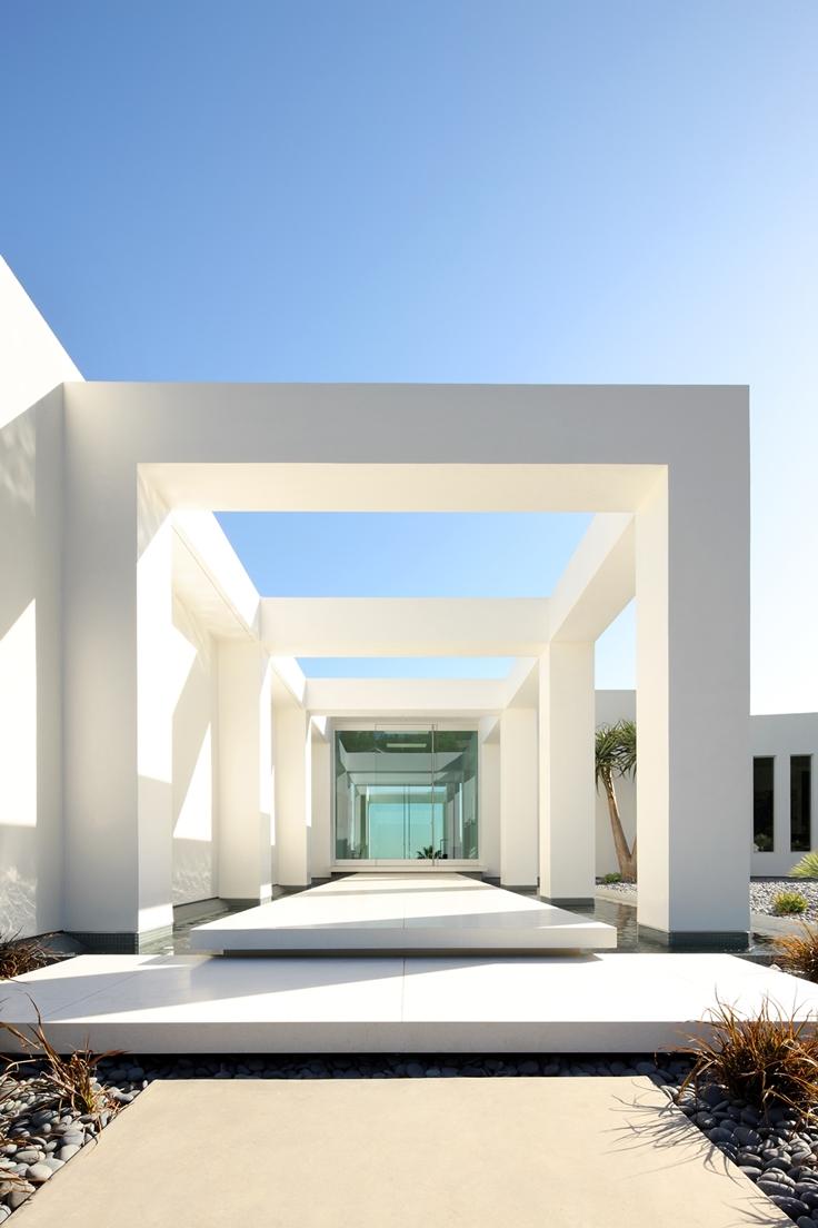 Minimalist Entrance