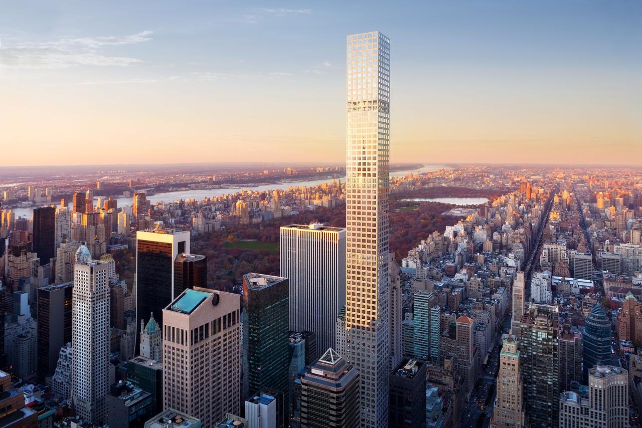 432 Park Avenue and Central Park