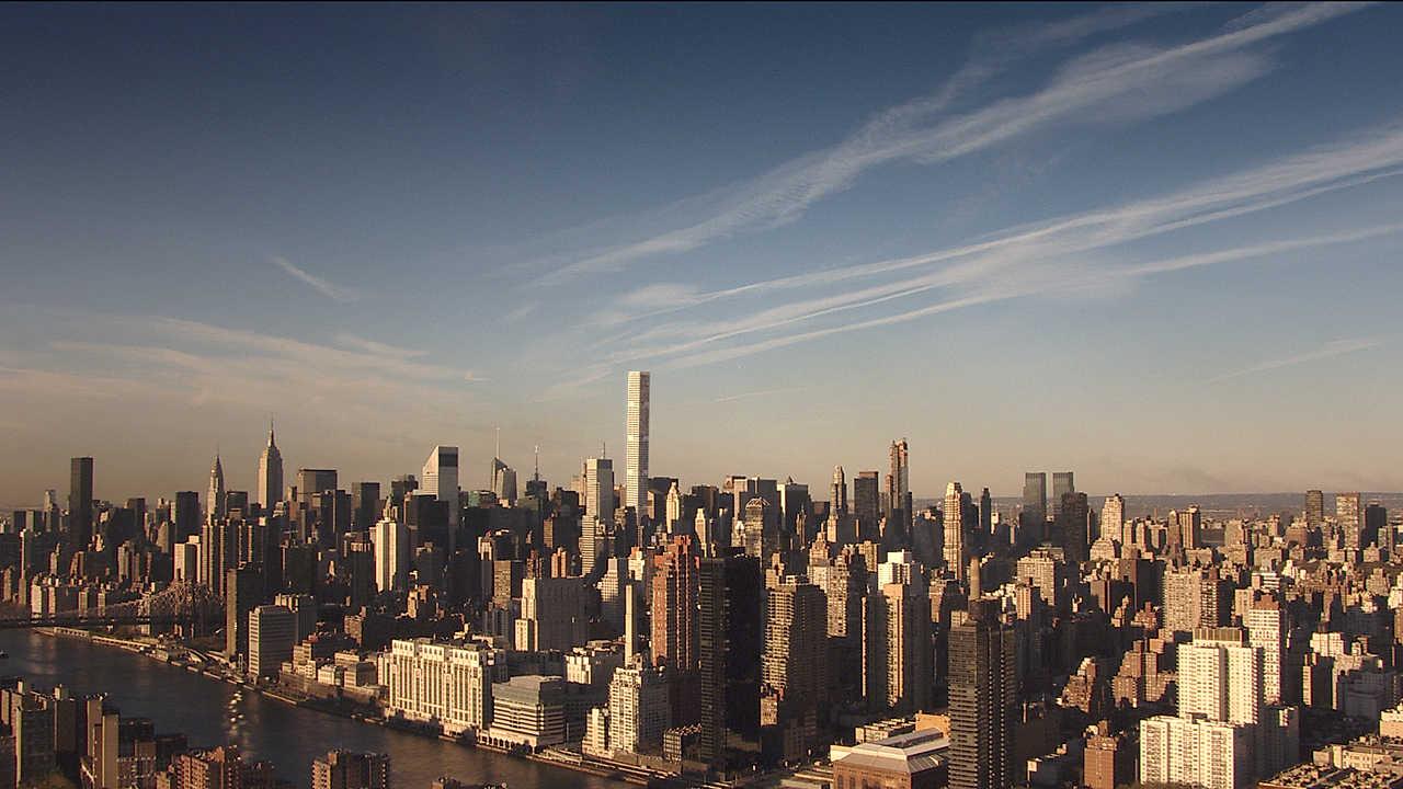 432 Park Avenue and Midtown skyline