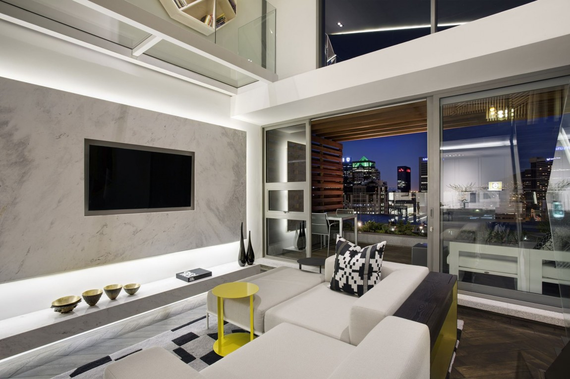 Modern Living Room In Small Apartment By SAOTA De Waterkant Cape Town