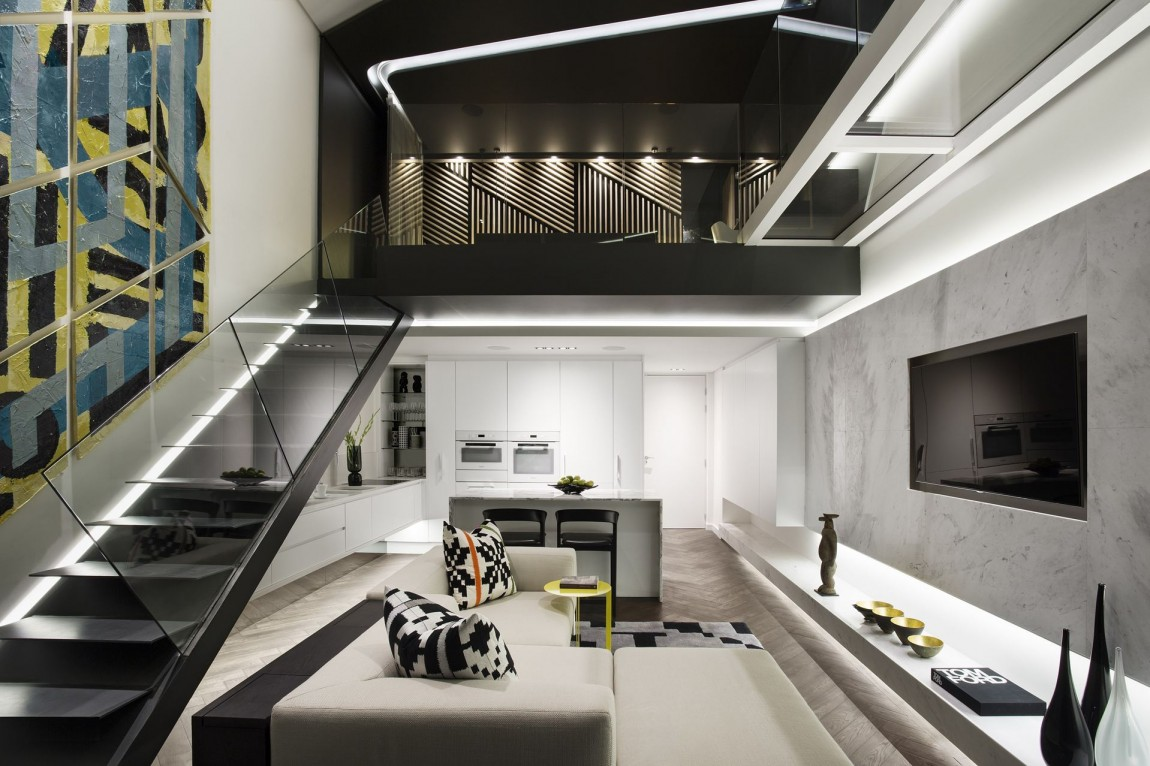 Gorgeous Small Apartment Interior Design Idea by SAOTA ...