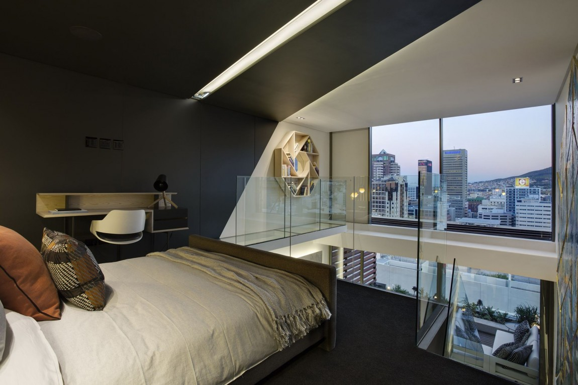 Gorgeous small apartment interior design idea by saota architecture beast - Modern homes interior bedroom small ...