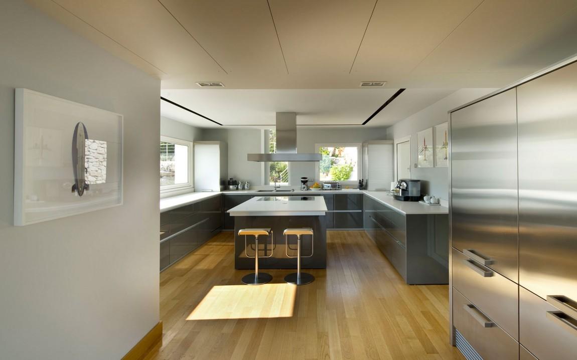 Second kitchen in modern home