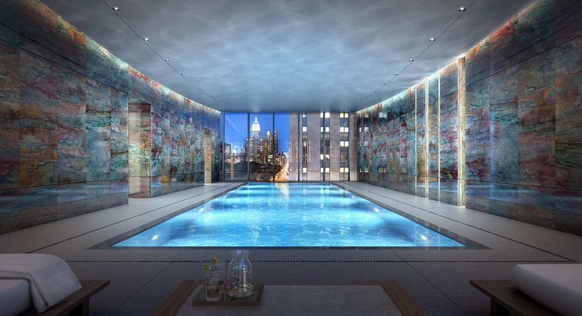 Is this the most impressive penthouse apartment ever sold - Apartments with swimming pool london ...