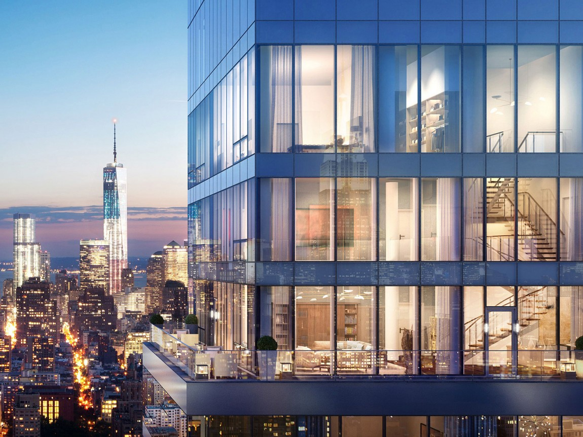 Is this the most impressive penthouse apartment ever sold for Modern house new york