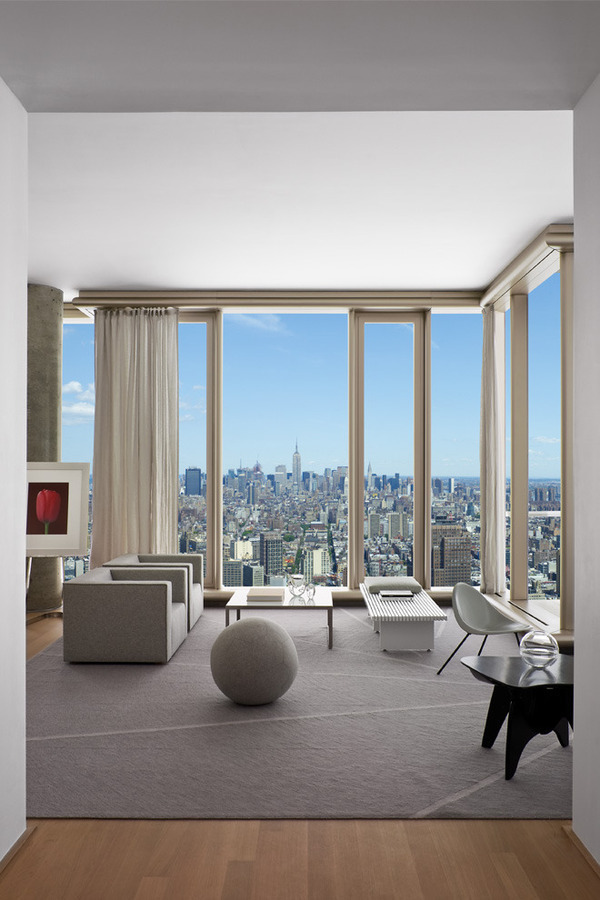 Living room Manhattan view