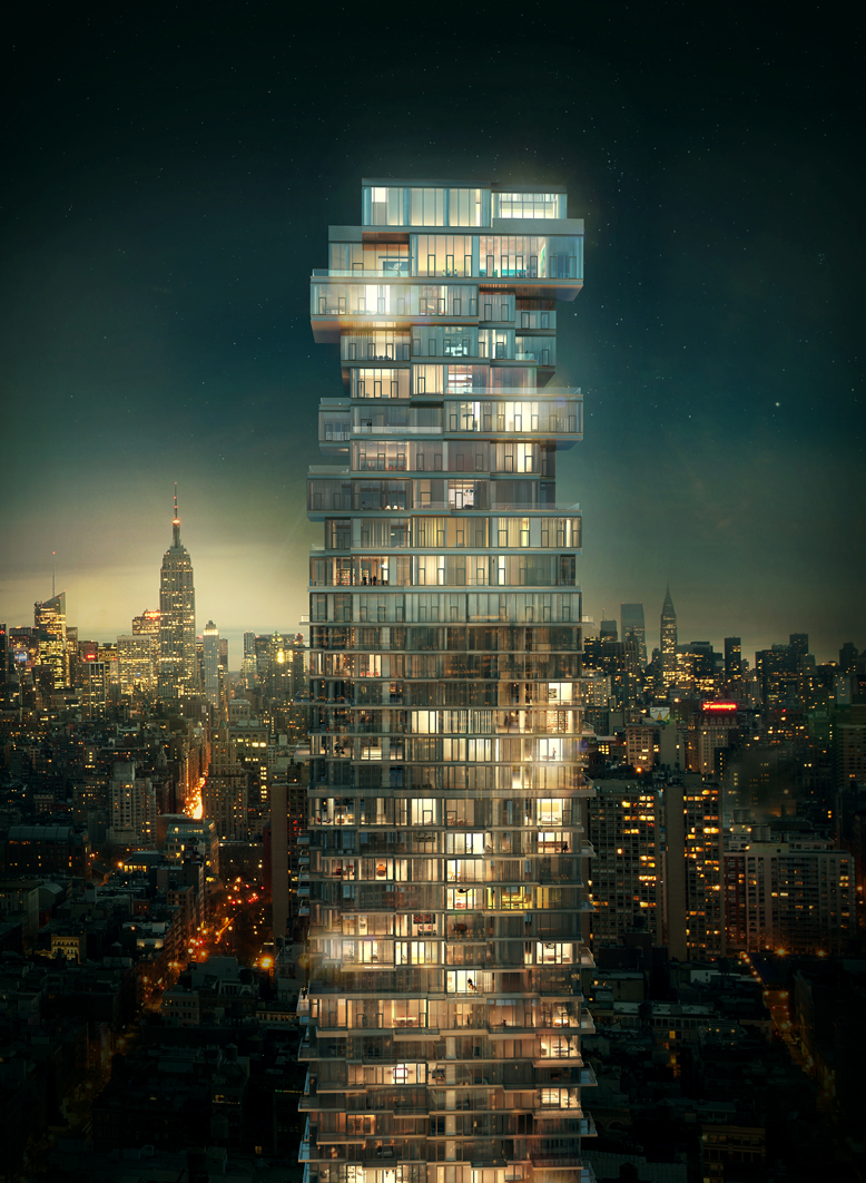 56 Leonard Street Unique Design Defining New York Skyline Architecture Beast