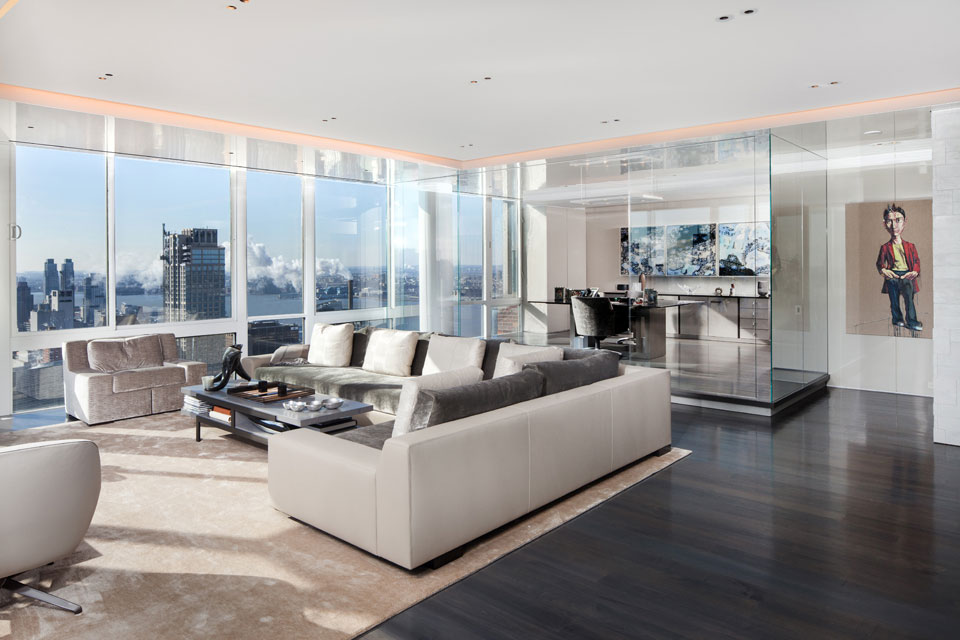 Image gallery modern new york apartments for Apartment design new york