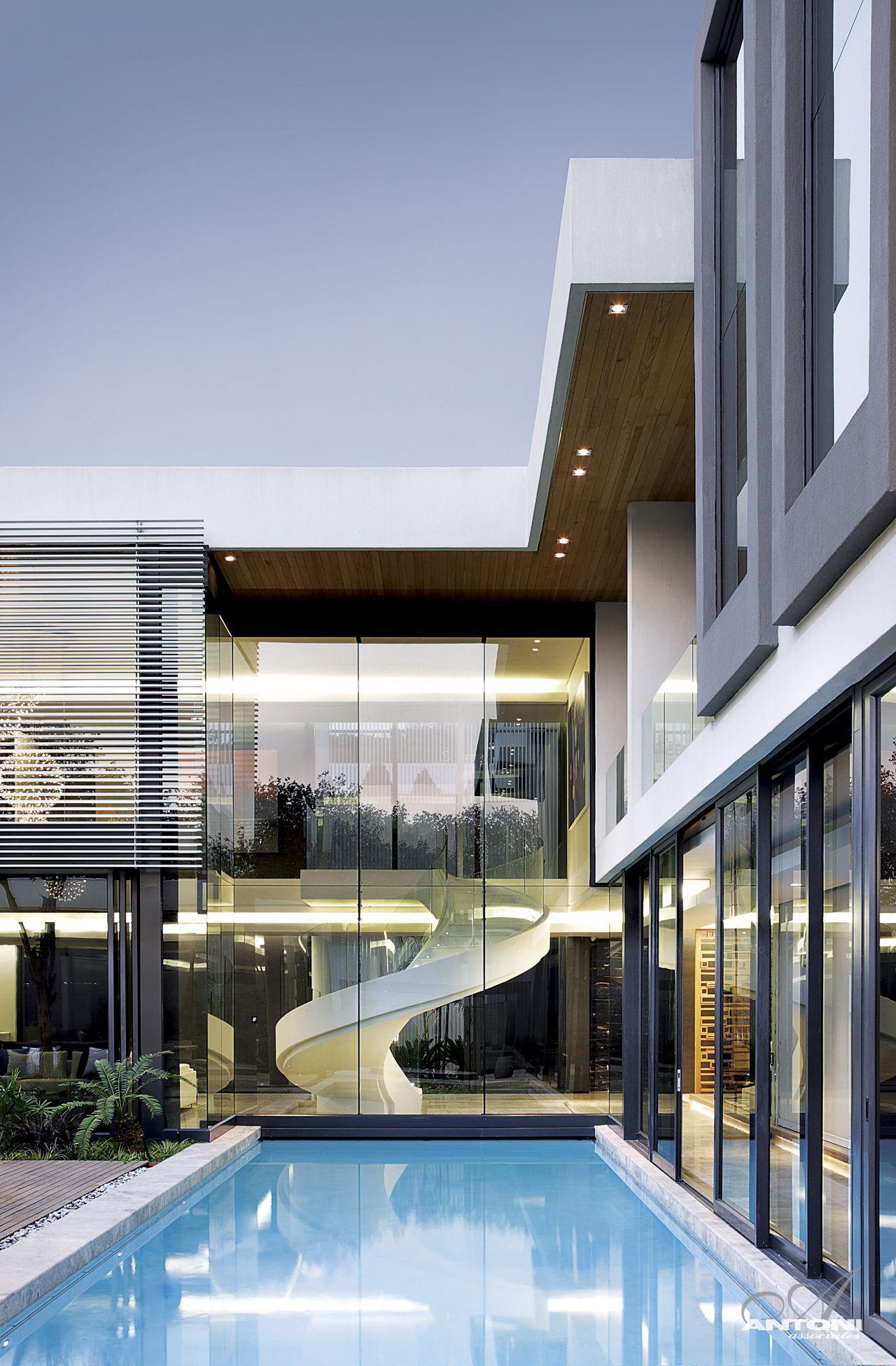 Gorgeous modern facade