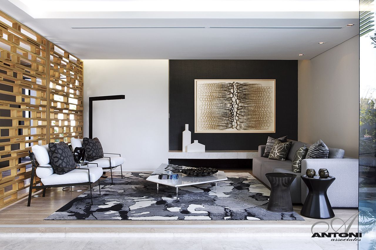 Modern mansion with perfect interiors by saota for Modern home hall design