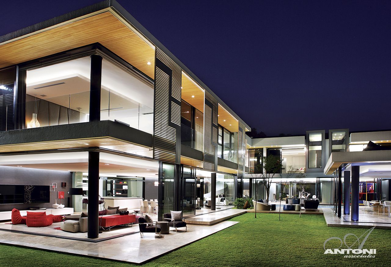 Modern mansion with perfect interiors by saota for The most modern house