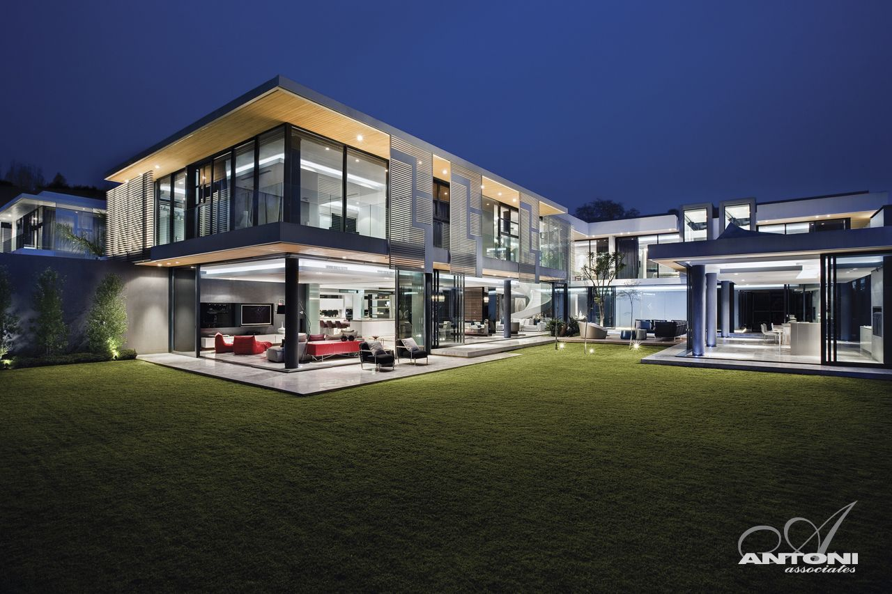 big modern mansions - photo #12