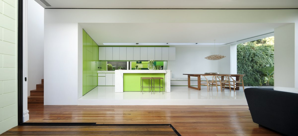 Open modern kitchen