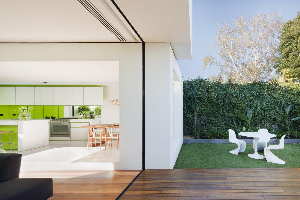 Open Wall In Modern Home