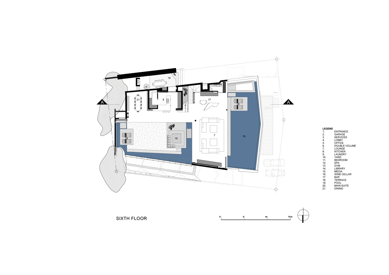 Beautiful houses nettleton 198 by saota architecture beast for Modern house layout plan