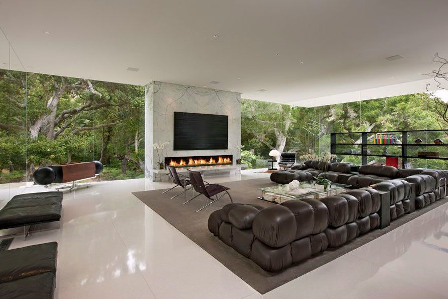 Jim Bartsch Minimalist Living Room Design