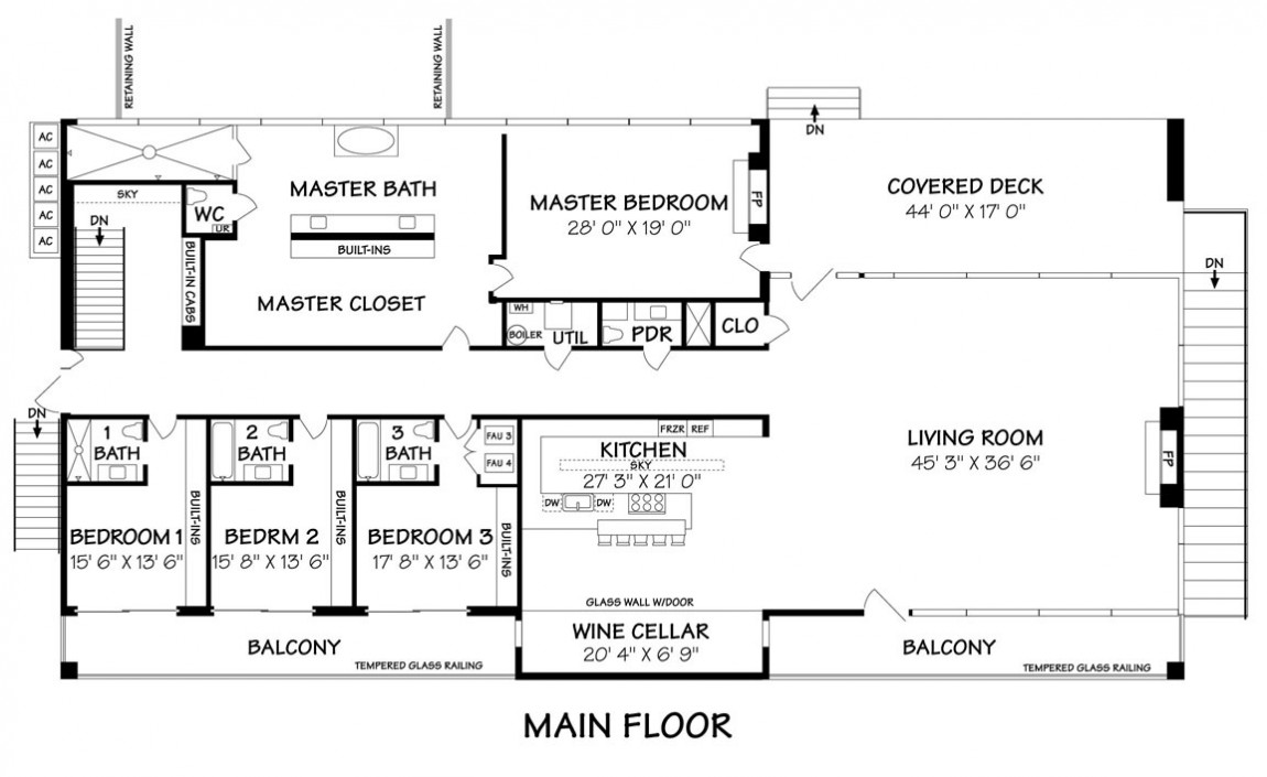 The Most Mini st House Ever Designed   Architecture Beast    Main floor plan of the most mini st house ever designed