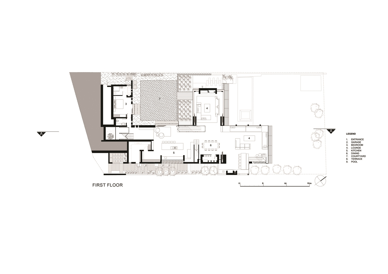 architecture floor plans contemporary home of dreams by saota architecture beast 10172