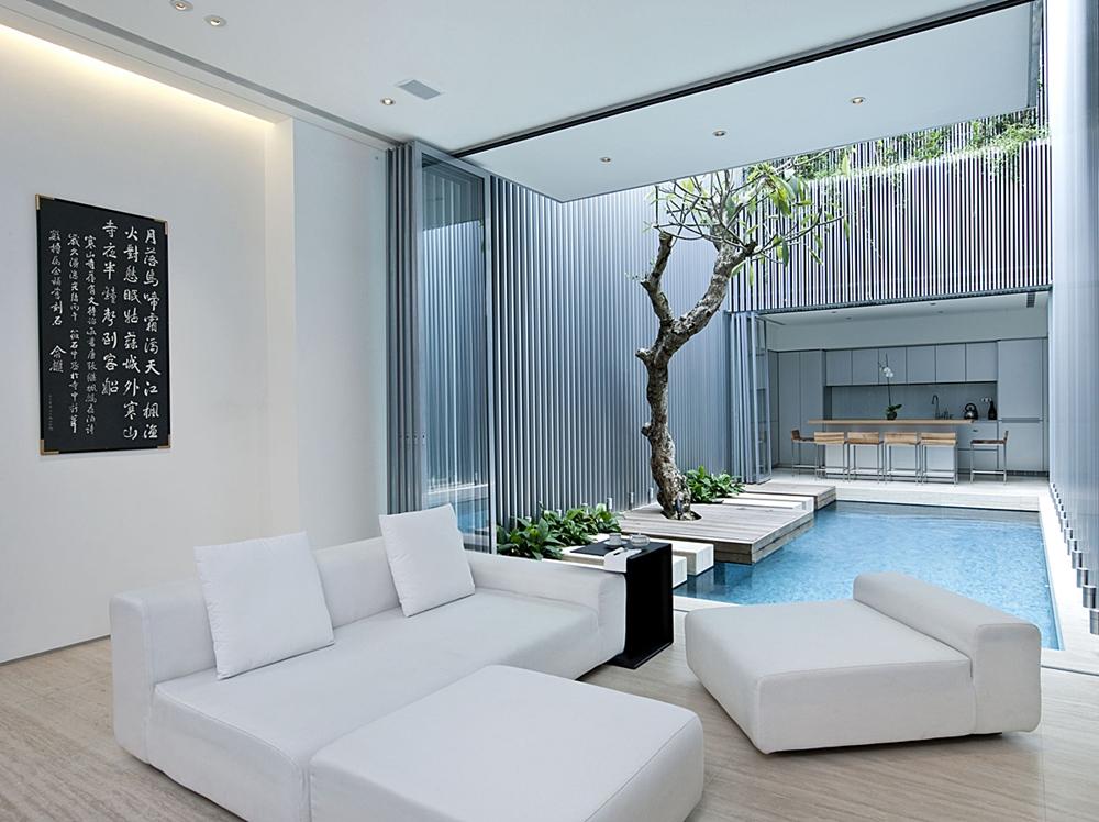 creative home   stunning modern 55 blair road house
