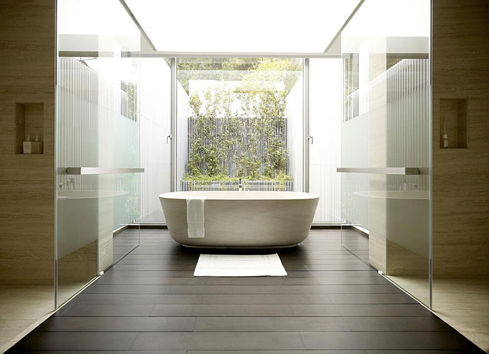 Stunning Bathroom Designs: Stunning Modern 55 Blair Road House