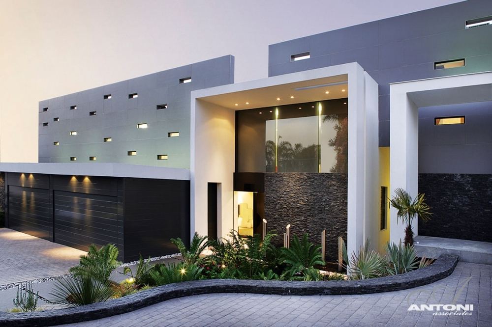 Good Beautiful Front Facade As Part Of Modern House Design