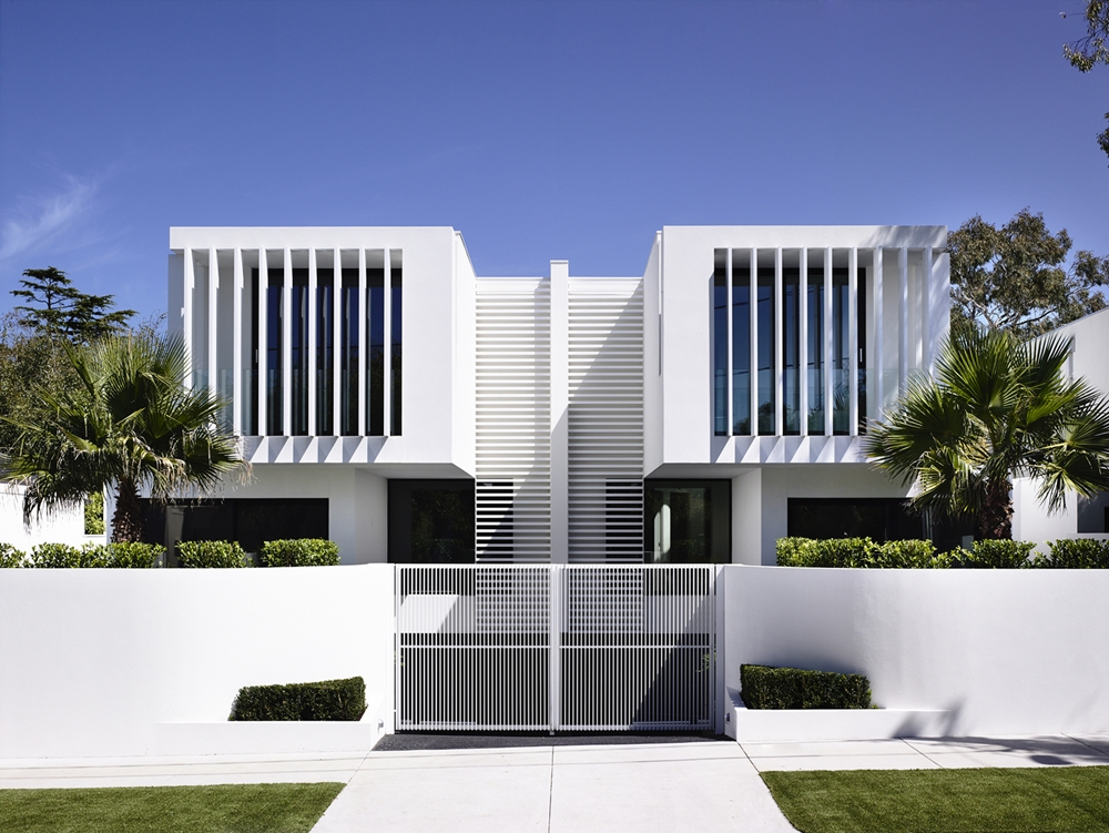 Minimalist modern facade