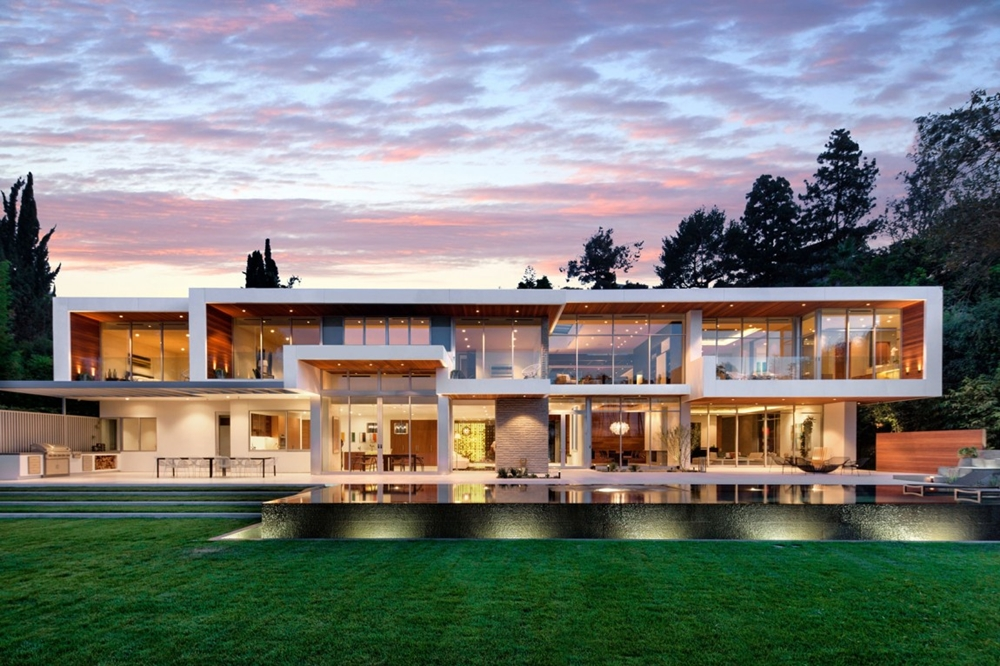 huge luxury california home - Huge Modern Houses