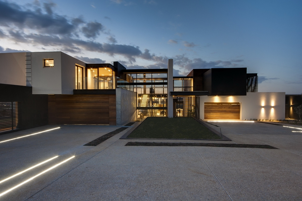 Modern home in South Africa