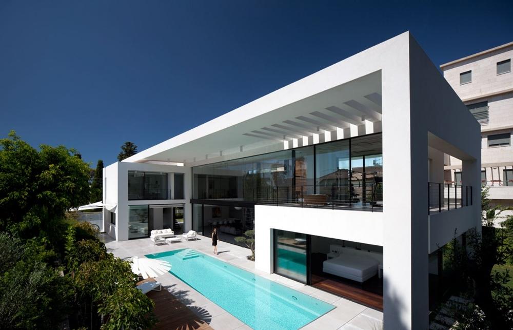 Large Bauhaus home