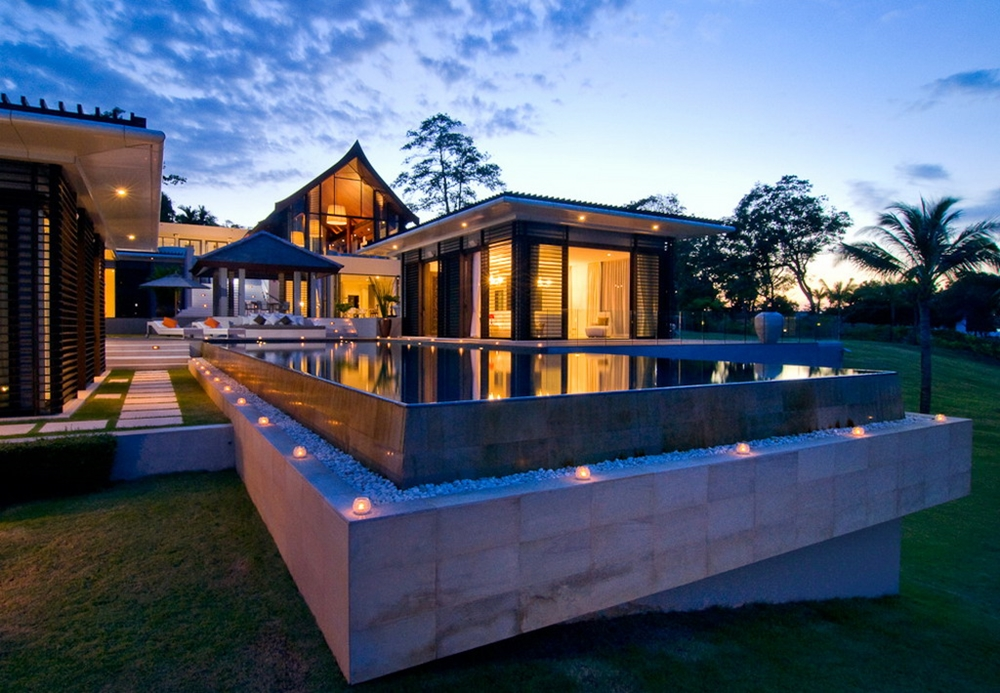 Modern home in Thailand