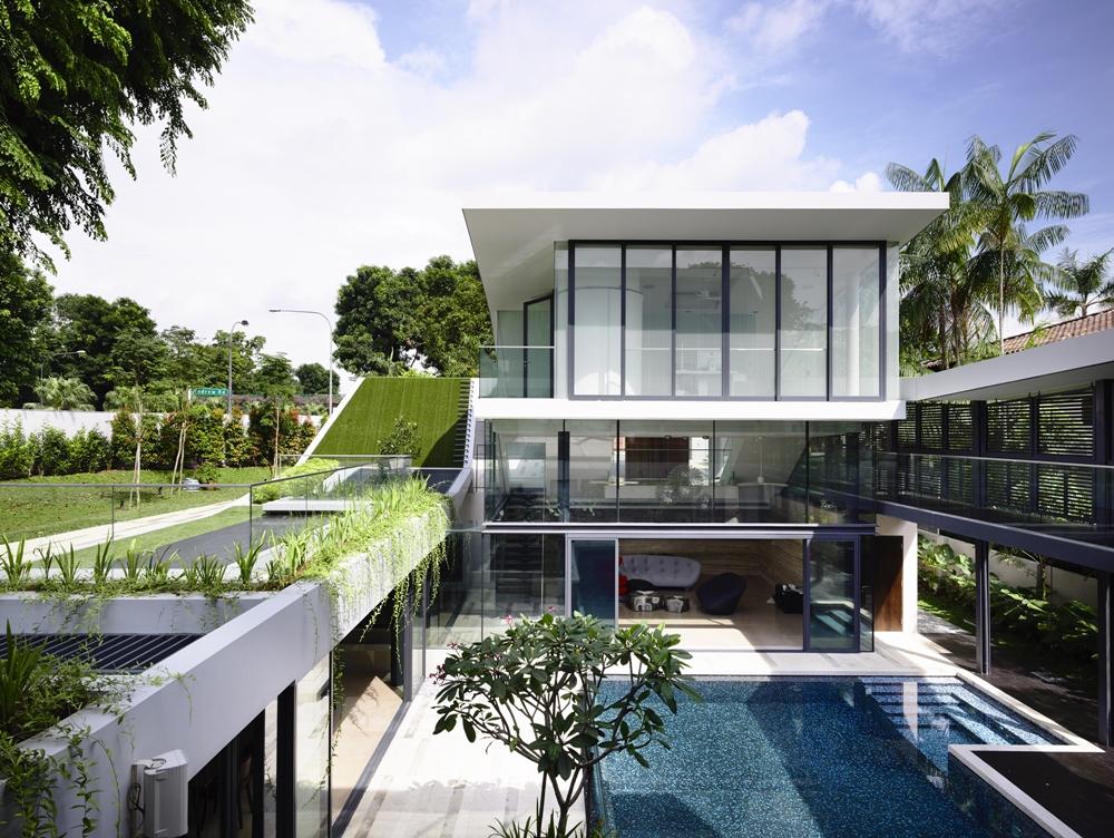 Interesting contemporary home