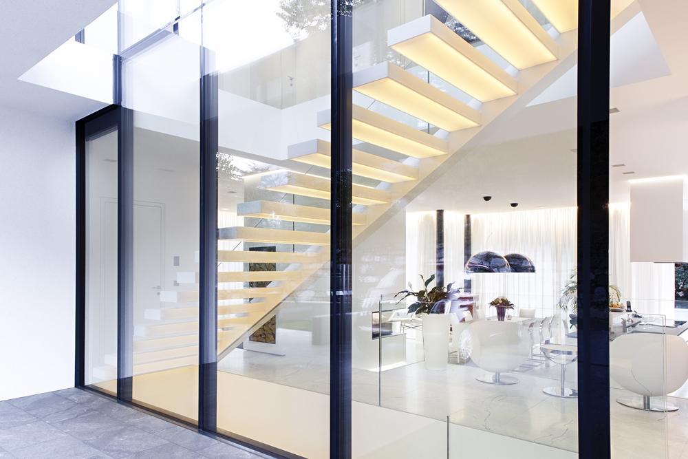 Modern Glass Wall