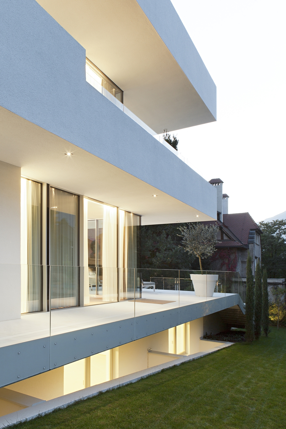 terraces and balconies of house m - Most Beautiful Home Designs