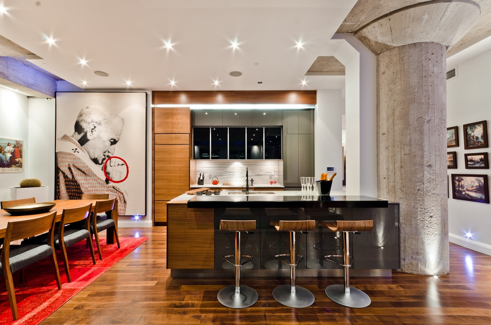 Modern apartment with an amazing ideas architecture beast for Apartment design awards