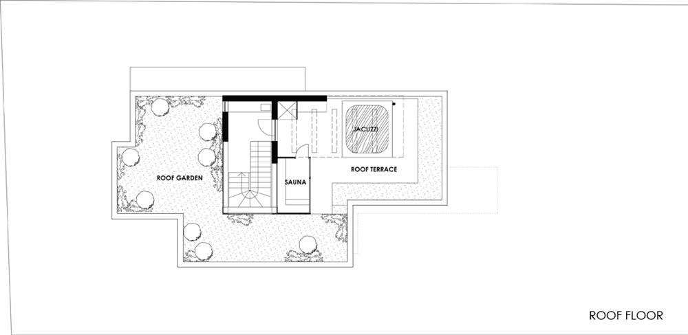 Hillside House Above Budapest by ARX Studio Architecture Beast – Hillside Home Floor Plans