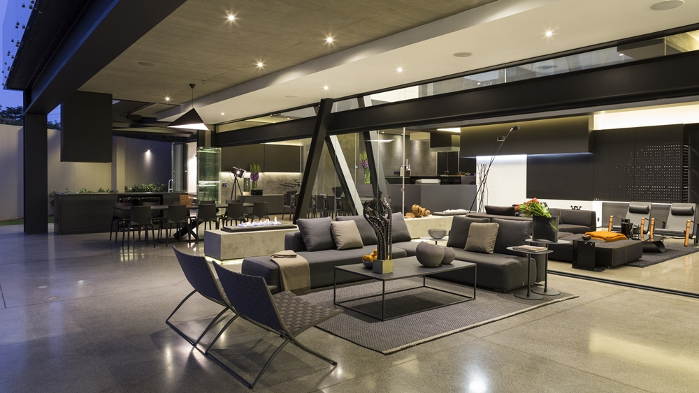Ground floor living space