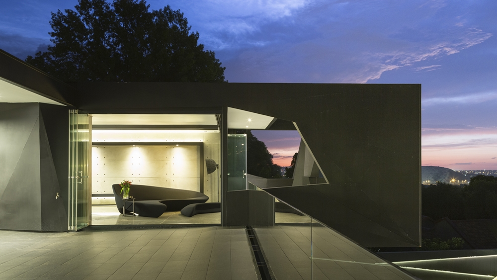 Terrace in one of the best houses in the world