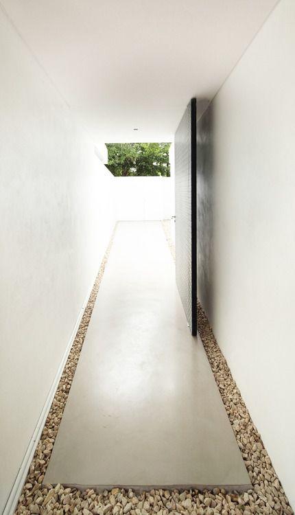minimalist door