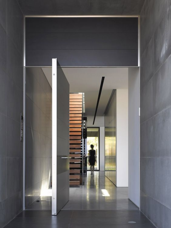 Door designs: 40 modern doors perfect for every home ... on Modern Entrance Design  id=11281