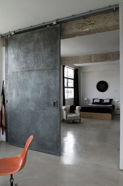 indoor steel doors