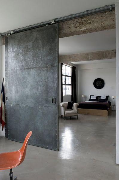 indoor steel doors