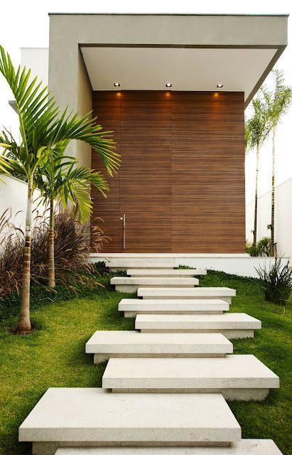 contemporary wooden doors