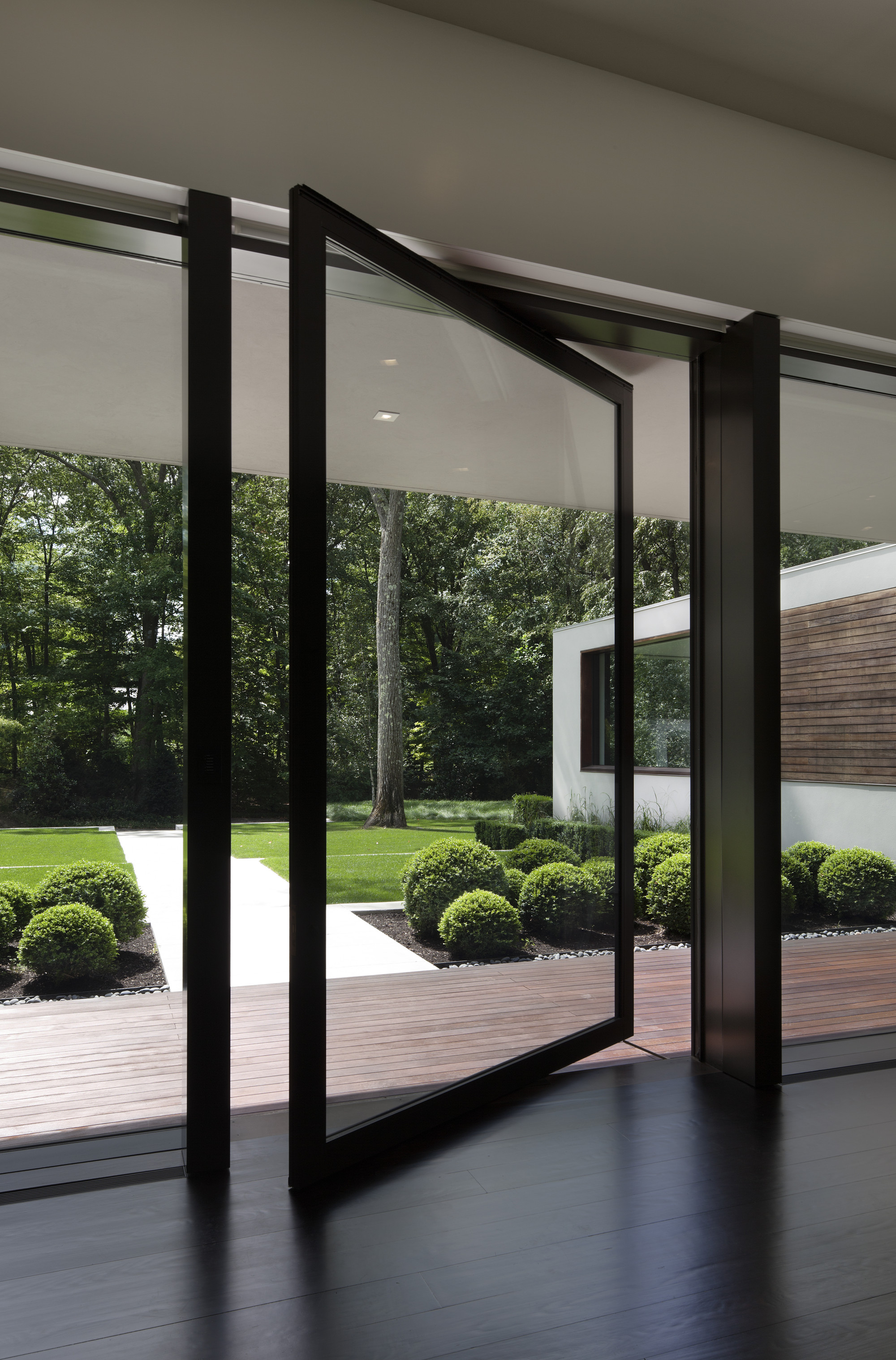 thin glass doors