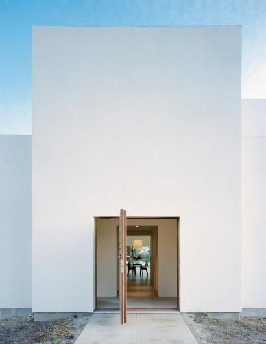 opened minimalist door & Door designs: 40 modern doors perfect for every home - Architecture ...