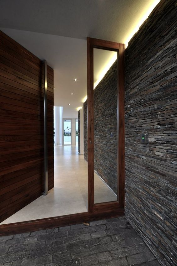 Door designs 40 modern doors perfect for every home Front entrance ideas interior