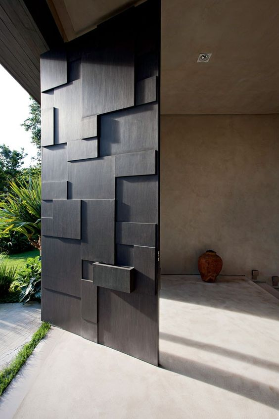 Door designs 40 modern doors perfect for every home for Interior door design