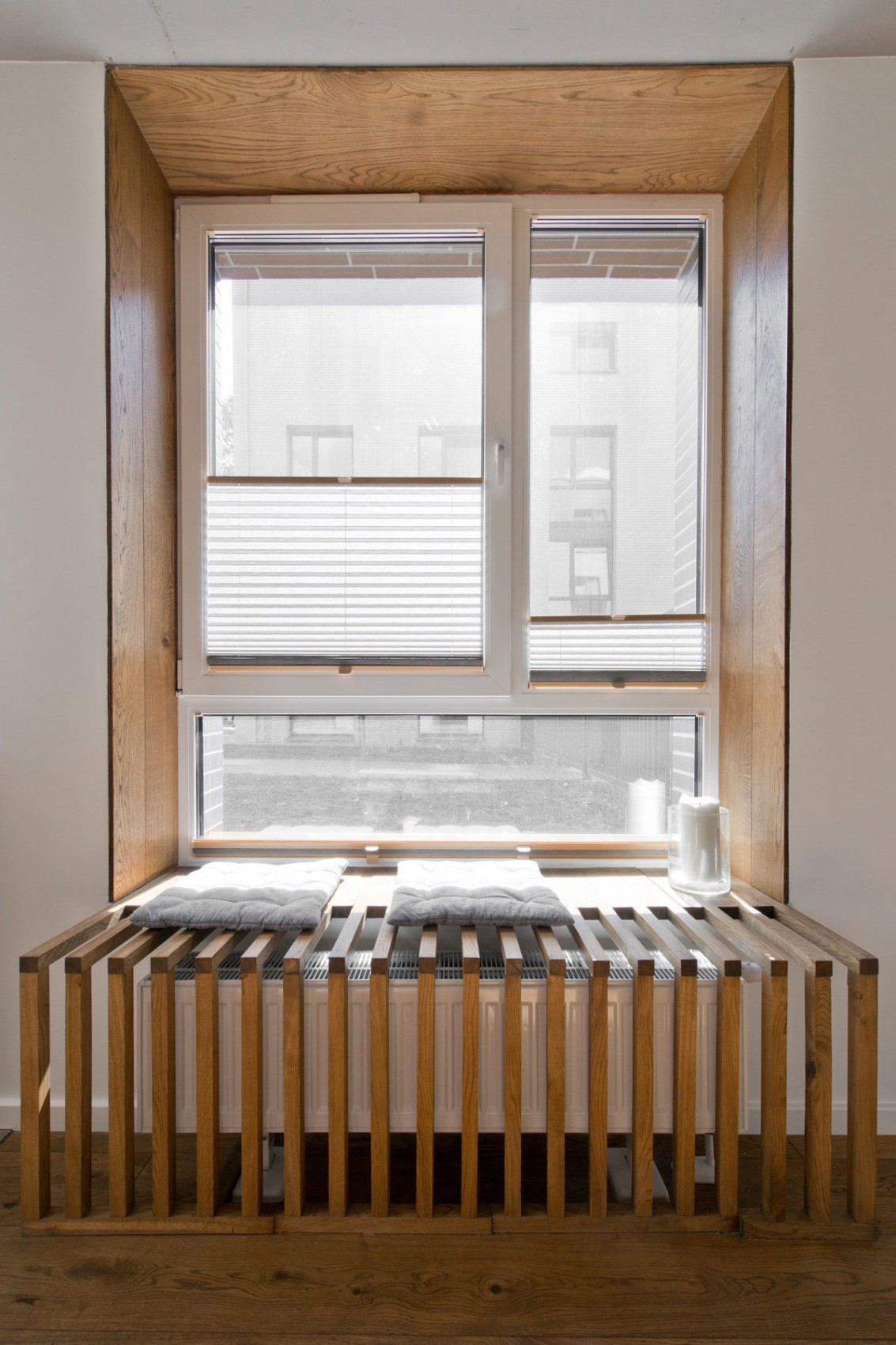 Modern window nook by InArch