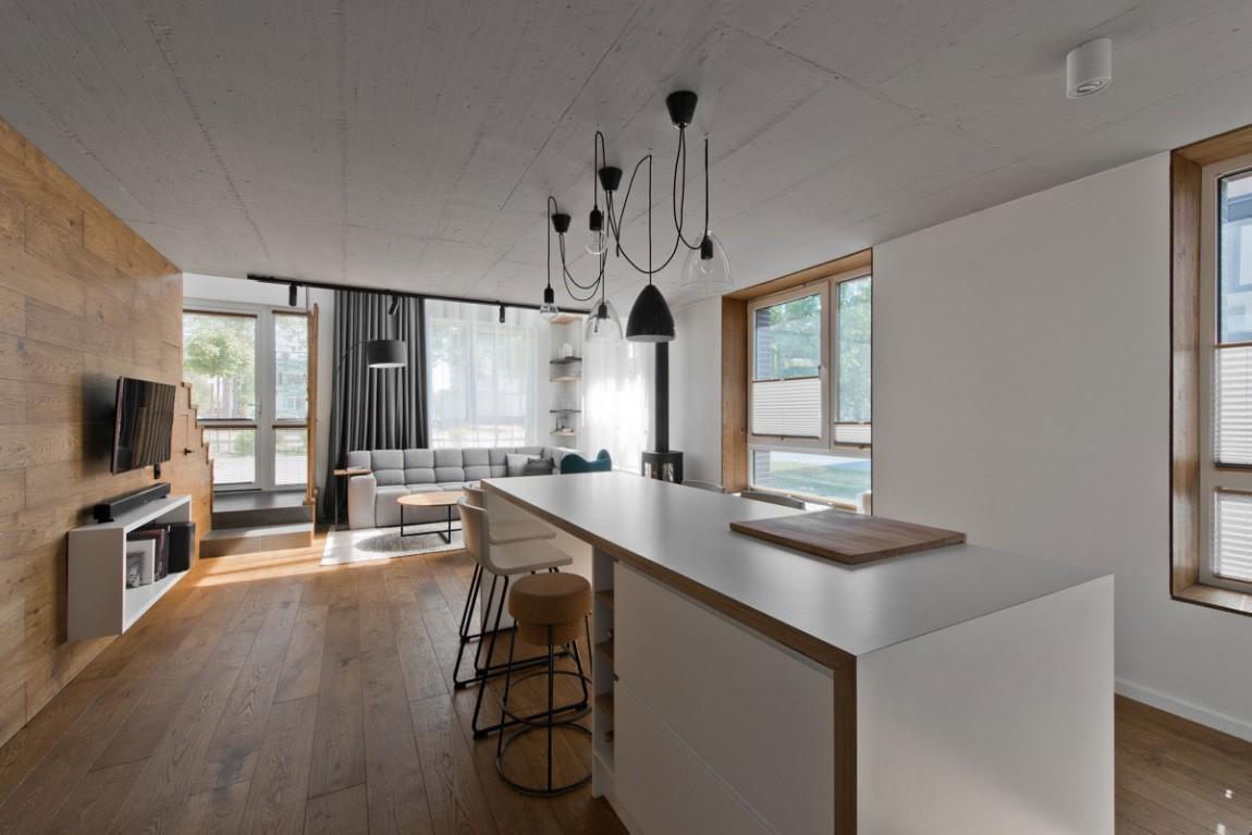 Scandinavian interior design in a beautiful small for Interior architecture