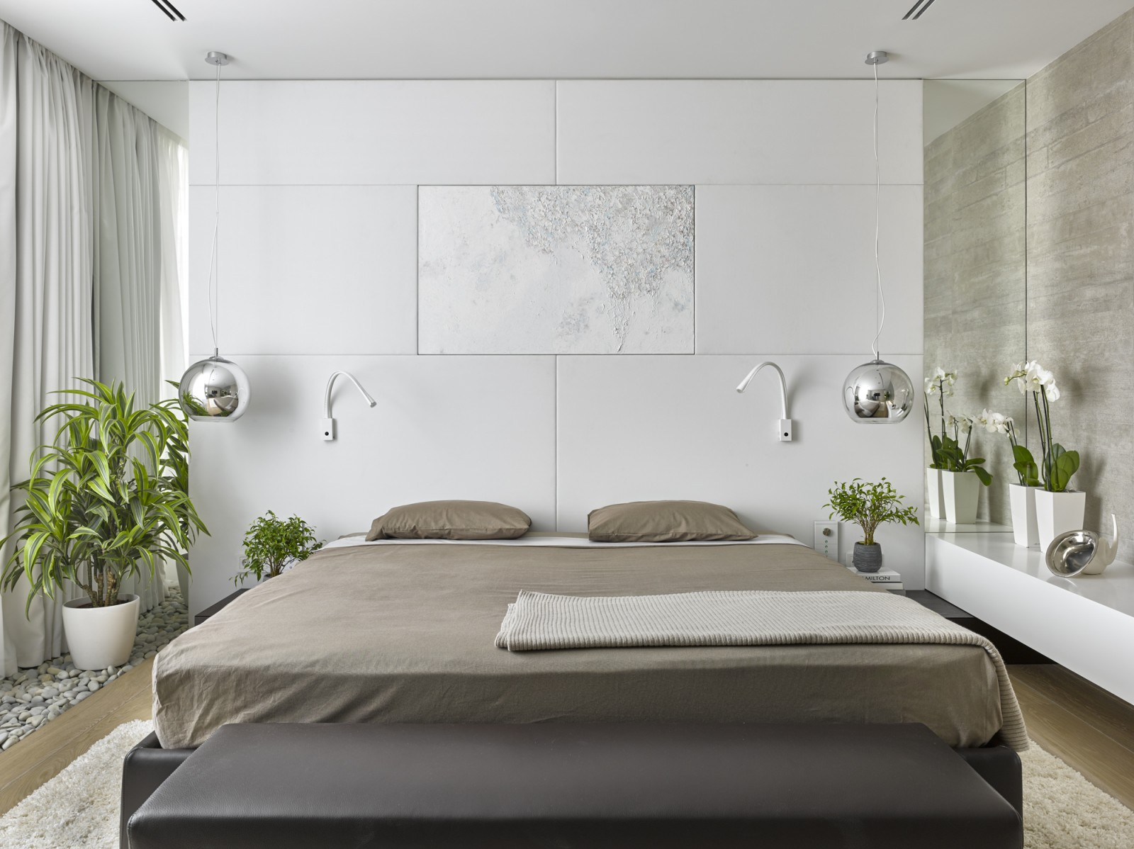 Modern Bedroom From Alexandra Fedorova Bright Small Idea